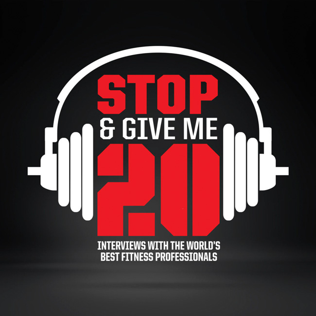 Stop & Give Me 20- Episode 040- Robert Yang, Nutritionist, Strength Coach, Consultant