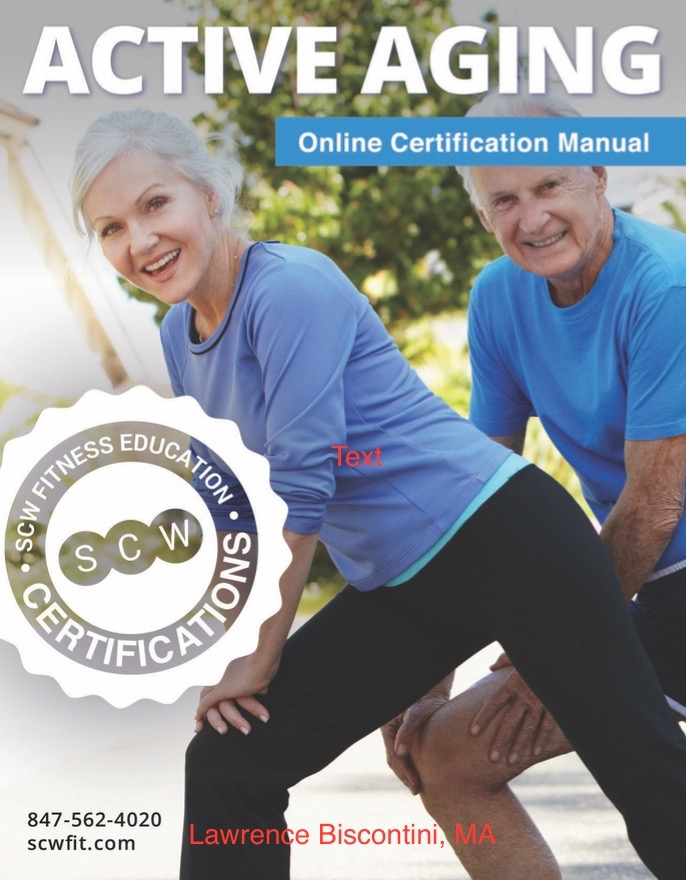 Scw Active Aging Certification In Nyc Monday January 29 With