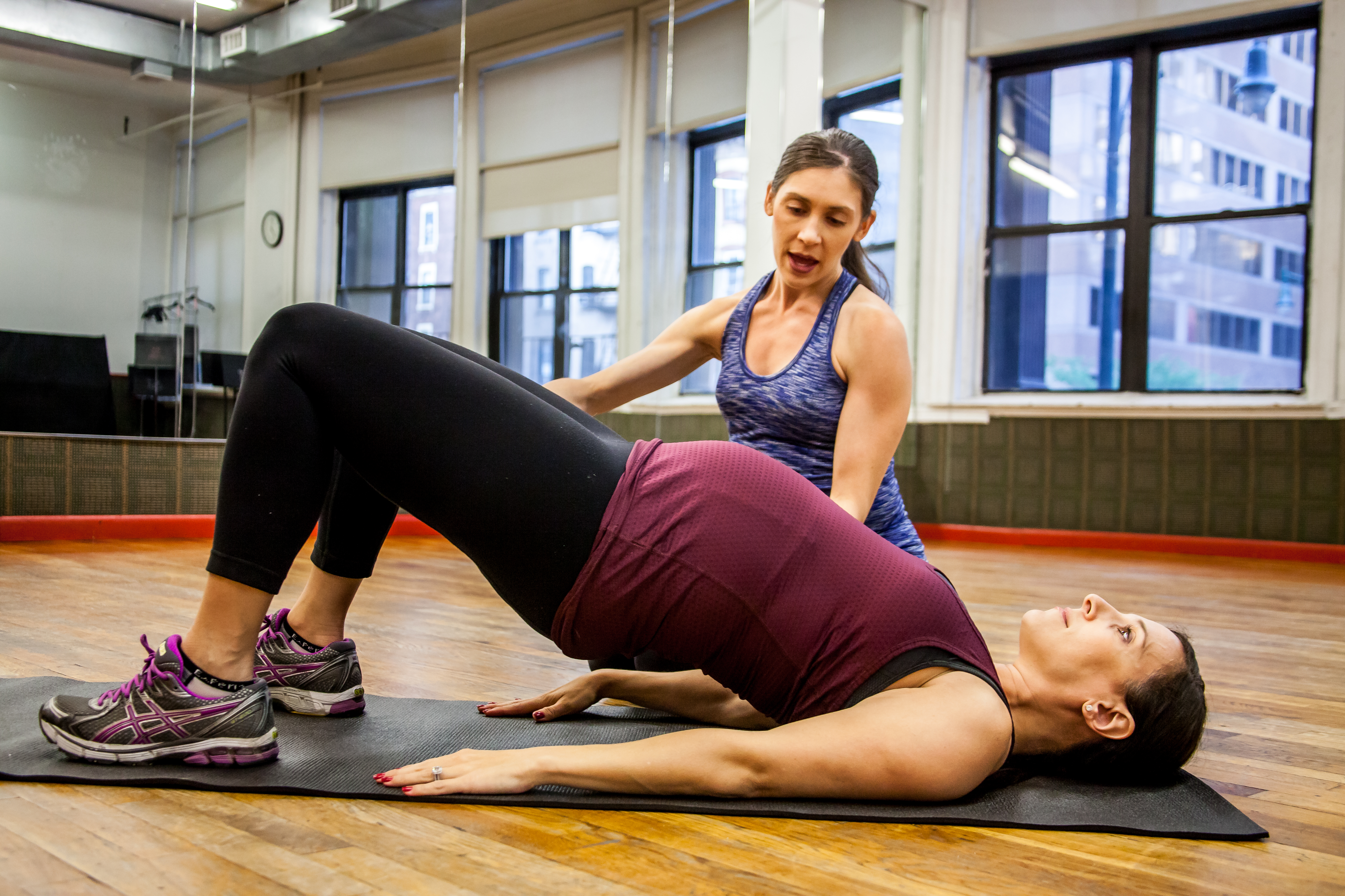Training For Birth And Beyond A Performance Based Prepostnatal